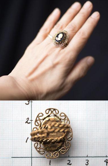 指輪サイズ写真